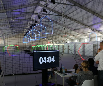 Dutch Drone Race Team SQG aangekomen in Dubai