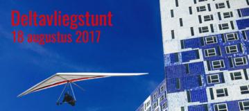 Nederlandse deltapiloot start als eerste vanaf een gebouw