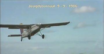 Op 9-jarige leeftijd een parachutesprong? Jan-Boyen deed het!
