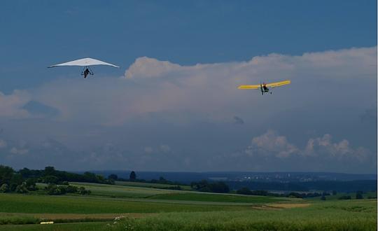 Deltavliegen op tour door Nederland