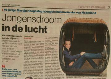 Martijn Hoogeslag in Hart van Nederland