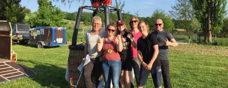 Sanne en haar team