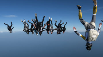 Nieuw Nederlands skydive record