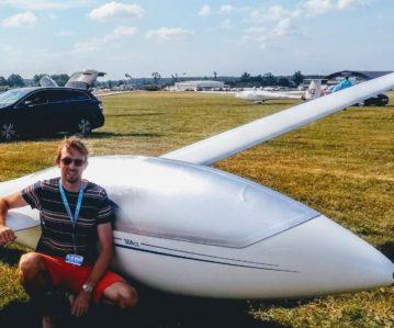 WK Zweefvliegen met de deelname van Luchtsportheld Tim