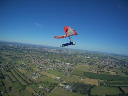 Wim de Gier maakt unieke tocht over de Flevopolder
