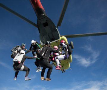 Luchtsportheld Jasper organisator skydive evenement in Hongarije!