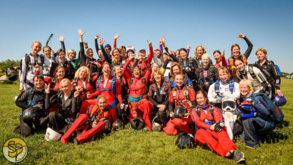 Wereldrecord voor Women on Wings met Nederlandse deelname!