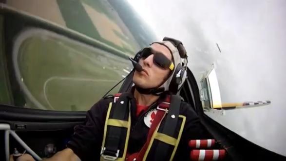 Luchtsportheld Ringo Massa Nederlands kampioen Aerobatics