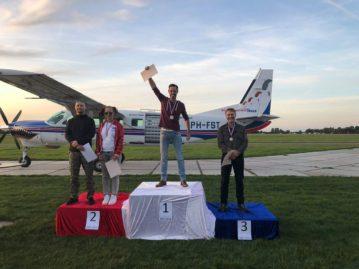 Fons van den Boom Nederlands Kampioen wingsuit