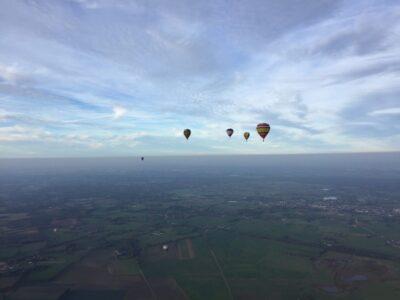 Luchtsportheld Sanne pakt podiumplaats tijdens de Ad Ballon Cup
