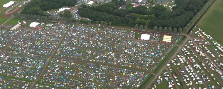 Bijzondere ballonvaart bij festival!
