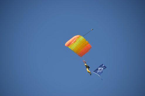 KNVvL zichtbaar aanwezig bij Wings of Freedom ;-)