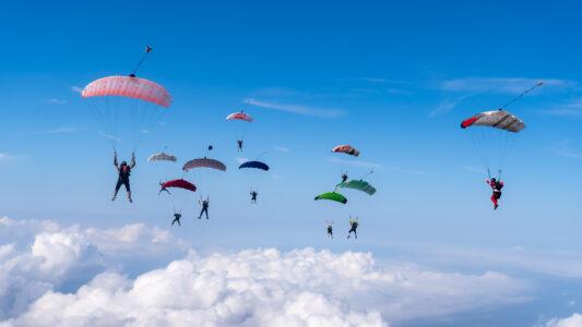 Skillscamp Canopy Flock