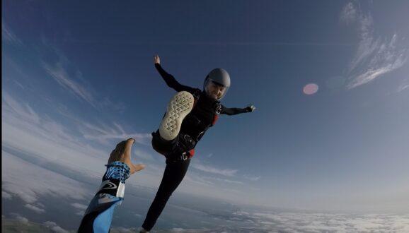 Plezier in parachutespringen