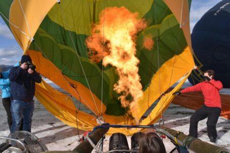 Schitterende beelden uit de Ballonwoche
