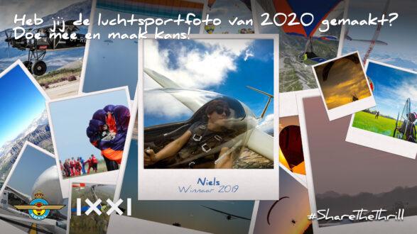 Zoektocht gestart! Wie heeft dé luchtsportfoto van 2020 gemaakt?